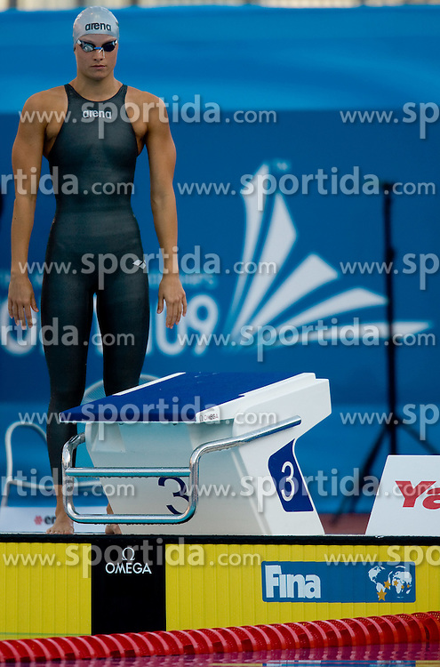 Sara Isakovic of Slovenia competes during the Women's 200m Freestyle Semi-Final during the 13th FINA World Championships Roma 2009, on July 28, 2009, at the Stadio del Nuoto,  in Foro Italico, Rome, Italy. (Photo by Vid Ponikvar / Sportida)