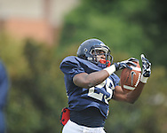 Ole Miss defensive back Cody Prewitt (25) at football practice in Oxford, Miss. on Sunday, August 4, 2013.
