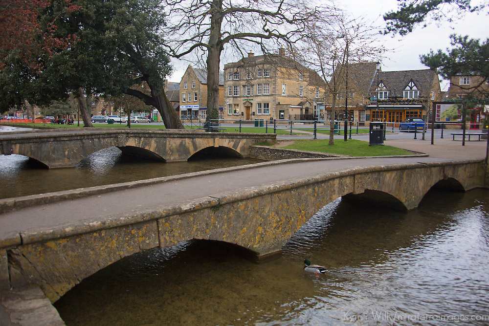 Europe, Great Britain, England Gloucestershire. Bourton on the Water in the Cotswolds.