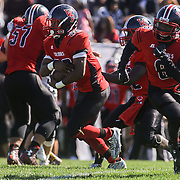 William Penn running back Joe Greenwood (32) takes the hand off in the first quarter Saturday, Oct. 10, 2015 at Bill Cole Stadium in New Castle, DE.