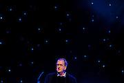 Gerrit Komrij draagt enkele gedichten voor. In de Stadsschouwburg van Utrecht vindt de dertigste nacht van de po&euml;zie plaats. Tijdens het evenement zijn er voordrachten van bekende en minder bekende dichters en is er een poetryslam. Daarnaast zijn er allerlei andere activiteiten.<br /> <br /> Dutch writer Gerrit Komrij is reading some of his poems. For the 30th time the Night of the Poetry is held in the Stadschouwburg in Utrecht. Writers are reading their poems, a poetry slem is organized and visitors can have a poem written especially for themselves.