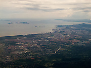 Panama-2014<br /> Flying in south of Panama City