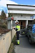 Hydropower production, Tydal in Norway. Nea kraftverk, inngangspartiet.
