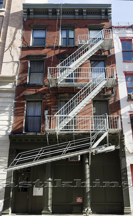 Fire stairs in Manhattan.