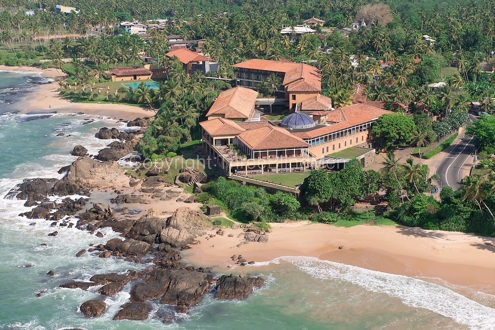 The Lighthouse Hotel in Galle, Sri Lanka. designed by Geoffrey Bawa,