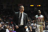 Ole Miss vs. Texas A&M head coach Billy Kennedy in Oxford, Miss. on Wednesday, February 27, 2013. (AP Photo/Oxford Eagle, Bruce Newman)