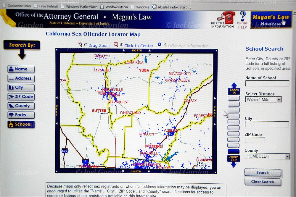 doj registered sex offender database