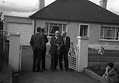 1960 - Murder scene at Golden Bridge Walk, Inchicore