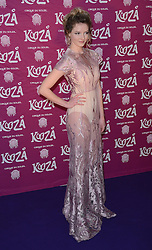 Dakota Blue Richards attends  Cirque Du Soleil Kooza Press Night at The Royal Albert Hall, Kensington Gore, London on Tuesday 6 January 2015