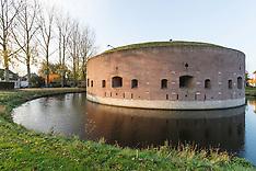 Torenfort aan de Ossenmarkt, Weesp, Noord Holland