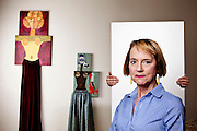 Stroke victim and critically-acclaimed artist Katherine Sherwood.<br />
