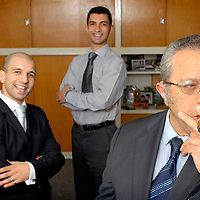 GSS Insurance..L-R: Andy, Solomon and Chris Tzouvanni