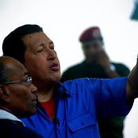 VENEZUELAN POLITICS / POLITICA EN VENEZUELA<br /> Portrait of Hugo Chavez Frias / Retrato de Hugo Chavez Frias<br /> Caracas - Venezuela 2006<br /> (Copyright &copy; Aaron Sosa)