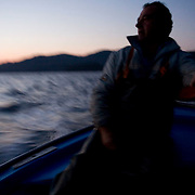 With the crisis looming the fish industry is becoming one of the most difficult professions. With big fish trawlers taking most of the fish and profits, the traditional generation of the Greek Fishermen is becoming an on going battle.  Image © Angelos Giotopoulos
