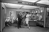 1966 - Stands and Models at the 3rd Irish Export Fashion Fair at the Intercontinental Hotel