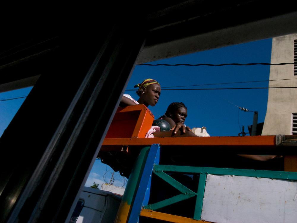 Port Au Prince, Haiti. Photo by Ben Depp 11/1/2008