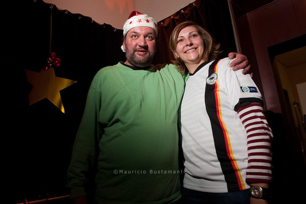 Weihnachtsfeier Hinz&Künztler und Beiersdörfer,