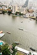 View of Chao Phraya River from Peninsula Bangkok