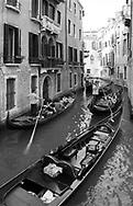 Traffic on Venetian canal