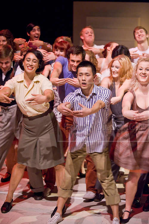 Coverage of a dress rehearsal of One Way, New Zealand School of Dance Choreographic Season, May 2010