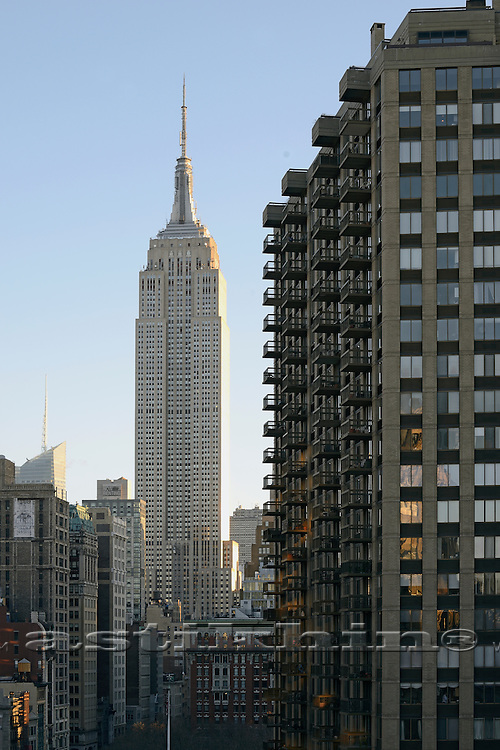 Empire State Building, Manhattan.