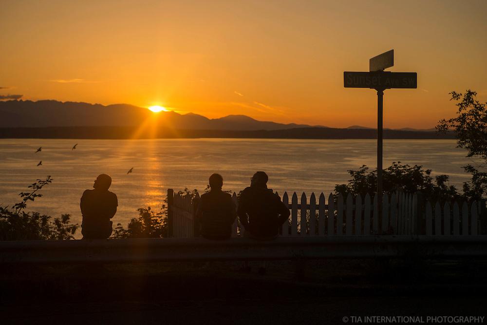 JUNE 5th:  Sunset on Sunset