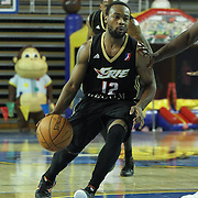 Erie BayHawks Lewis Jackson (12) drives towards the basket as in the second half of a NBA D-league regular season basketball game between the Delaware 87ers (76ers) and the Erie BayHawks (Knicks) Tuesday, Feb. 11, 2014 at The Bob Carpenter Sports Convocation Center, Newark, DE