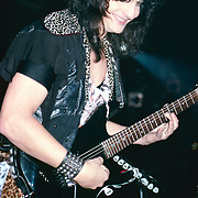 Mark St John of Kiss performing live in Poughkeepsie, NY 1984