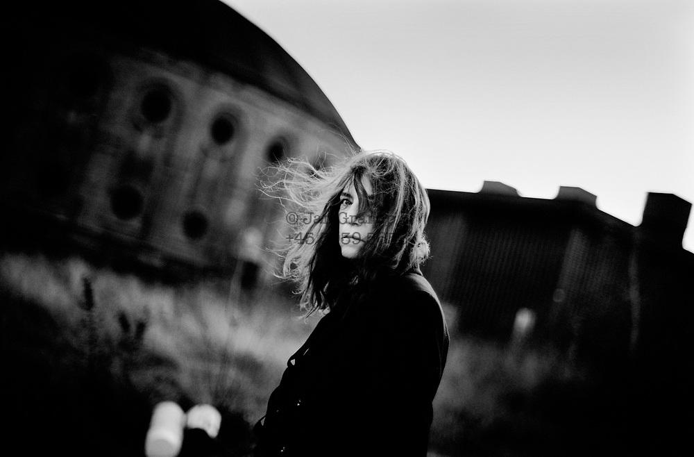 Patti Smith in Concert at Oestre Gasvaerk in Copenhagen, Denmark. singer songwriter Patti Smith in Copenhagen.