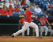 Ole Miss' Matt Smith (16) vs. Auburn during the Southeastern Conference tournament at Regions Park in Hoover, Ala. on Friday, May 28, 2010.  (AP Photo/Oxford Eagle, Bruce Newman)