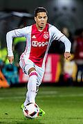 AMSTERDAM - Jong Ajax - FC Eindhoven , Voetbal , Jupiler league , Seizoen 2016/2017 , Sportpark de Toekomst , 24-02-2017 , Jong Ajax speler Justin Kluivert