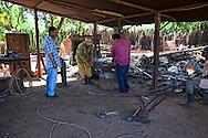 Welding shop in Manuel Lazo, Pinar del Rio, Cuba.