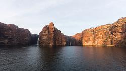 King George Falls in the east Kimberley.