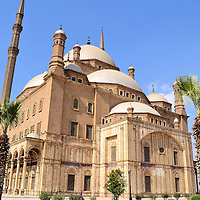 Mosque of Muhammad Ali in Cairo, Egypt<br />