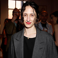 """Nicole Phelps attends the opening of """"Lady"""" by Douglas Friedman at the Ruffian Gallery on April 23, 2009 in New York City."""