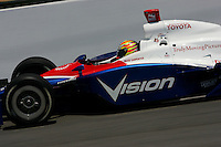 Ed Carpenter at the Richmond International Raceway, SunTrust Indy Challenge, June 25, 2005