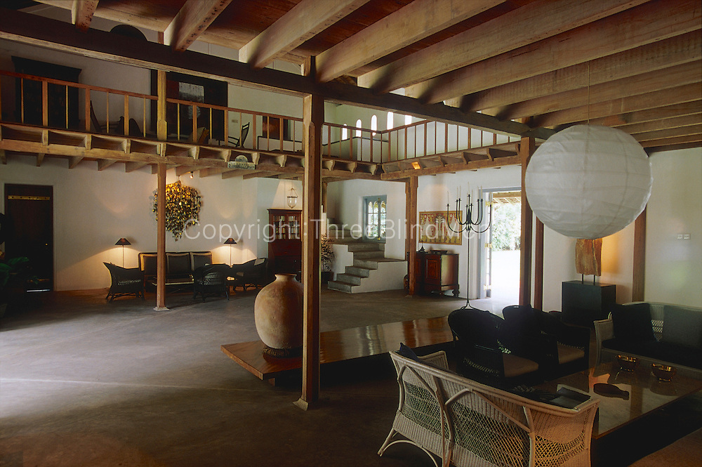 The Horagolla Stables. Architect: Geoffrey Bawa
