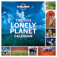 Lonely Planet Calendar 2013 - Cover main photo, Moorea lagoon