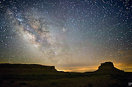 Milky Way over Chaco Canyon Historic Park, NM