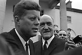 John F. Kennedy attends a Garden Party at Áras an Uachtaráin - 27/06/1963