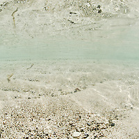"""Isla Grande is an exciting and popular place in Panama that people simply know as """"La Isla"""" (The Island). The island is inside the Portobelo National park, just 5 minutos by motor boat from the small town of La Guaira on the main land that makes its living out fishing and tourism.Pictured: Sandy bottom"""