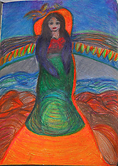 Fine Art Paintings/Drawings and Cards and Products, by Catherine Herrera