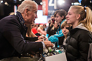 Vice President Joseph R. Biden, left, participates in the National Day of Service at the Unite America in Service event at the DC Armory on Saturday, January 19, 2013 in Washington, DC.