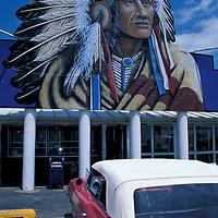 Cherokee Trading Post, Clinton, Oklahoma, USA