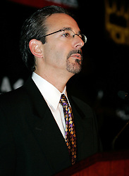HBO's Mark Taffet at the press conference announcing the upcoming fight between IBF Welterweight Champion Zab Judah and Floyd Mayweather.  The fight will take place on April 8, 2006 in Las Vegas.