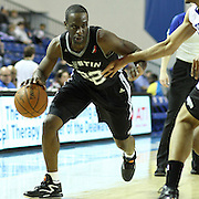 Austin Toros Guard Flip Murray (22) drives towards the baseline in the course of a NBA D-league regular season basketball game between the Delaware 87ers (76ers) and the Austin Toros (Spurs) Monday, Jan. 27, 2014 at The Bob Carpenter Sports Convocation Center, Newark, DE