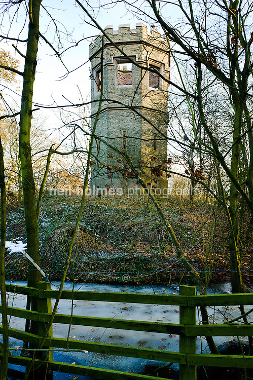 Last remaining turret from Cottingham Castle, Castle Hill Hospital
