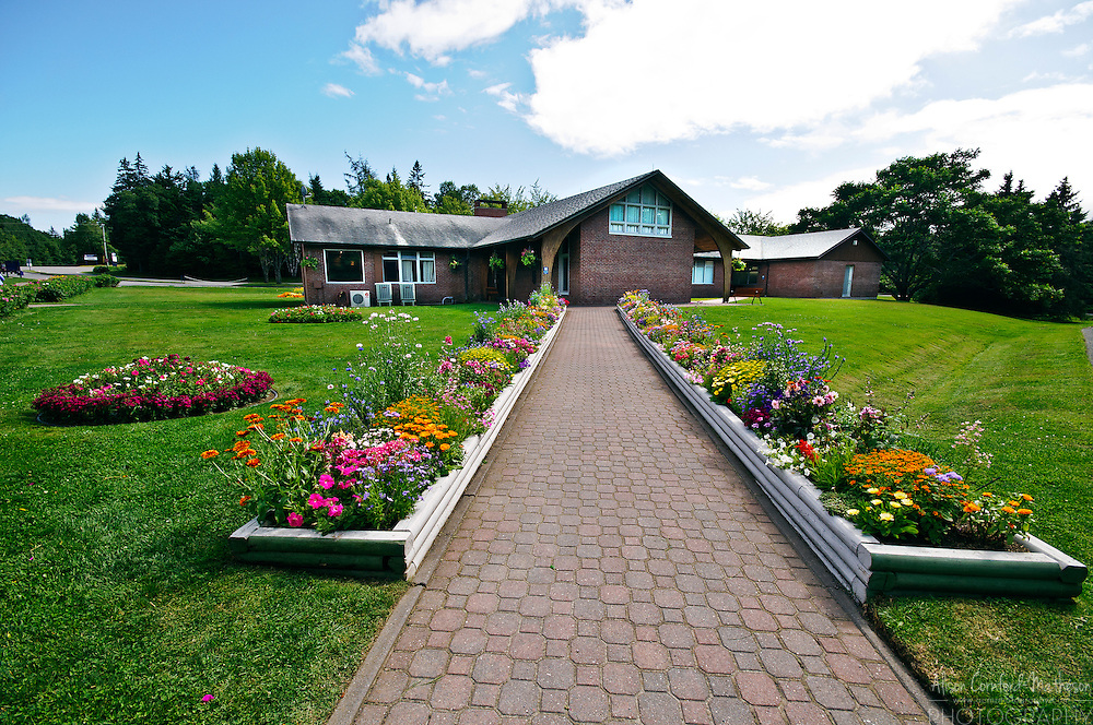 The Roosevelt Campobello International Park is the only park owned by two countries - Canada and the United States of America. It was once the summer home of president Franklin D. Roosevelt.
