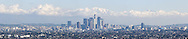 Los Angeles Panoramic Photo After Winter Storm, California