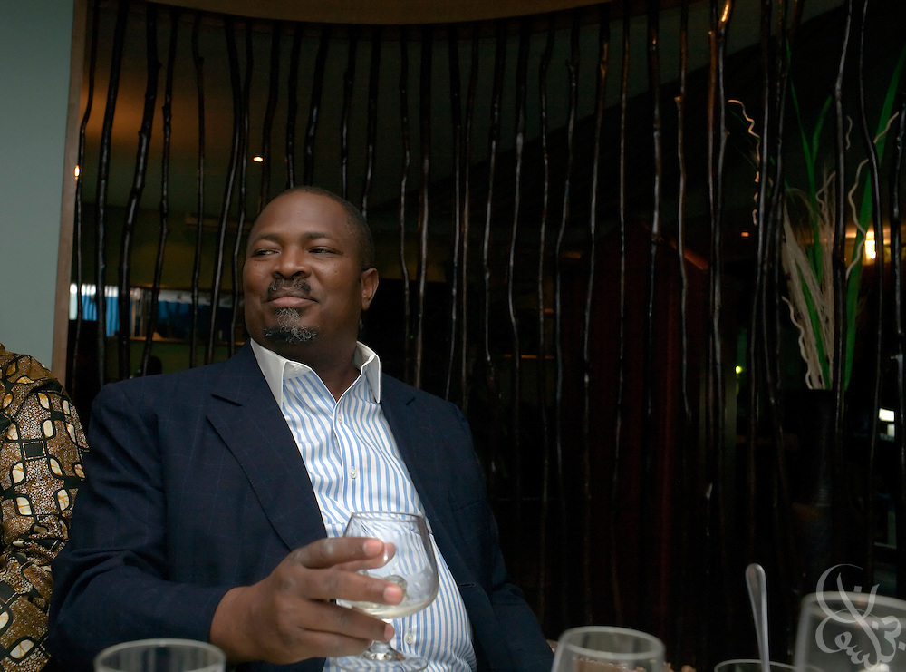ThisDay newspaper Editor-in-Chief, and Nigerian media mogul Nduka Obaigbena is seen at his July 14, 2008 birthday dinner in Lagos, Nigeria. Obaigbena founded the ThisDay music and fashion festival three years ago as an an annual effort to raise awareness of African issues while promoting positive images of Africa using music, fashion and culture in a series of concerts and events in Nigeria, the United States and the United Kingdom. .